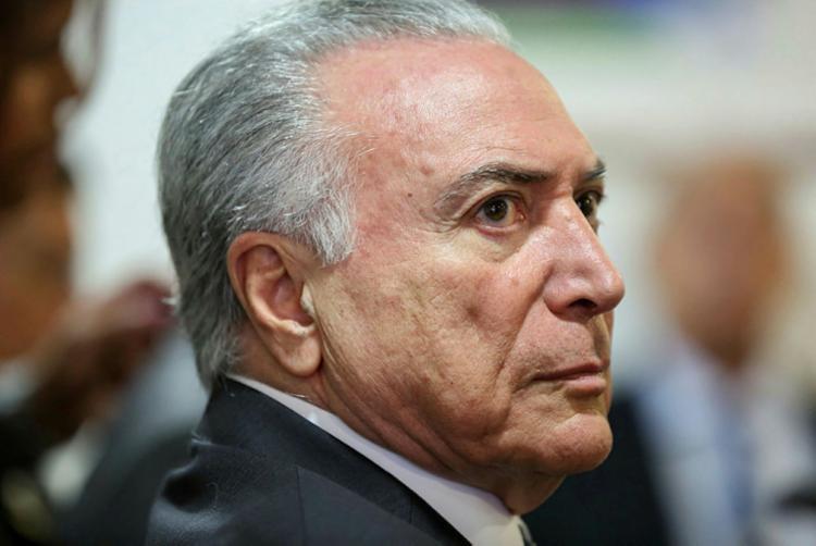 Após a apresentação da denúncia, o Palácio do Planalto disse que Temer provará sua inocência - Foto: Marcos Corrêa | PR