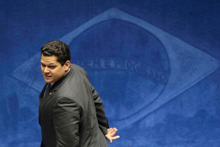 Senador de primeiro mandato, Alcolumbre teve uma atuação discreta nos primeiros quatro anos de mandato no Senado - Foto: Fabio Rodrigues Pozzebom | Agência Brasil