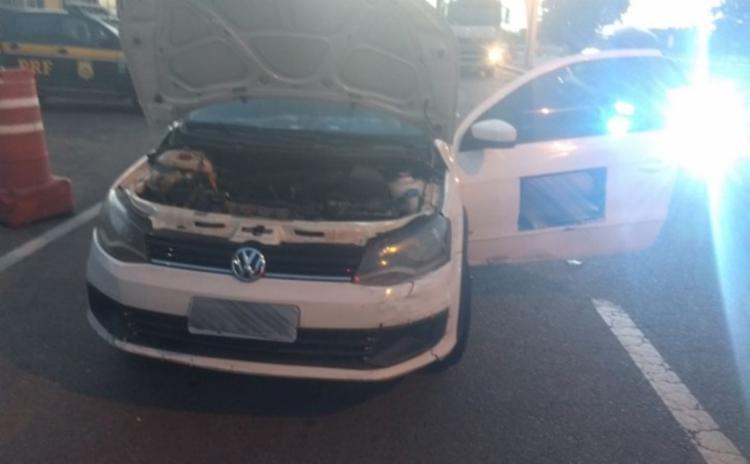 Veículo que ele dirigia havia sido roubado em 2017 no estado da Paraíba - Foto: Divulgação | PRF