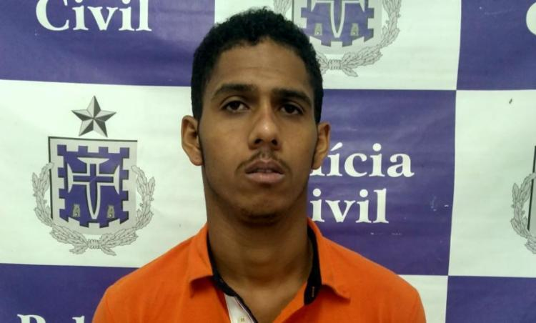 Thalisson Santana dos Santos estava com um mandado de prisão em aberto - Foto: Divulgação | ASCOM