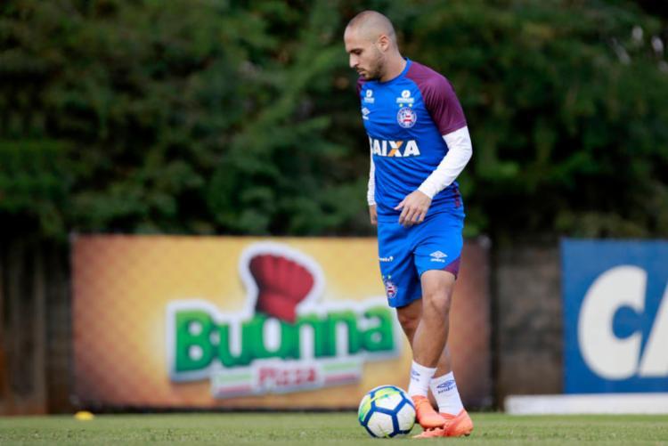 O atleta estava emprestado ao Al Wehda, da Arábia Saudita - Foto: Felipe Oliveira | Esporte Clube Bahia