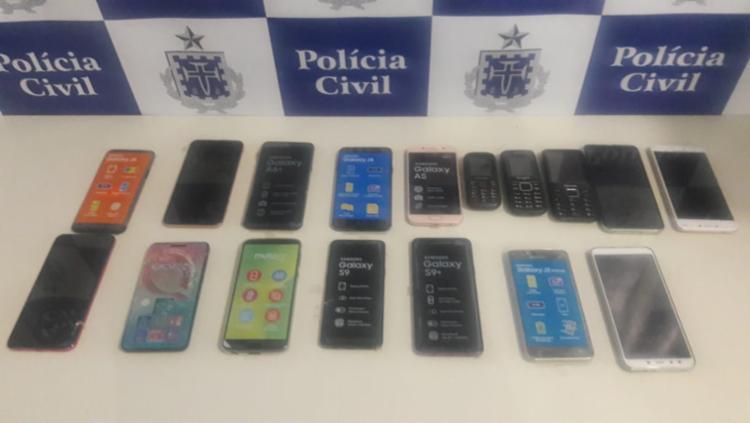 Os aparelhos serão devolvidos ao proprietário do estabelecimento - Foto: Divulgação | SSP
