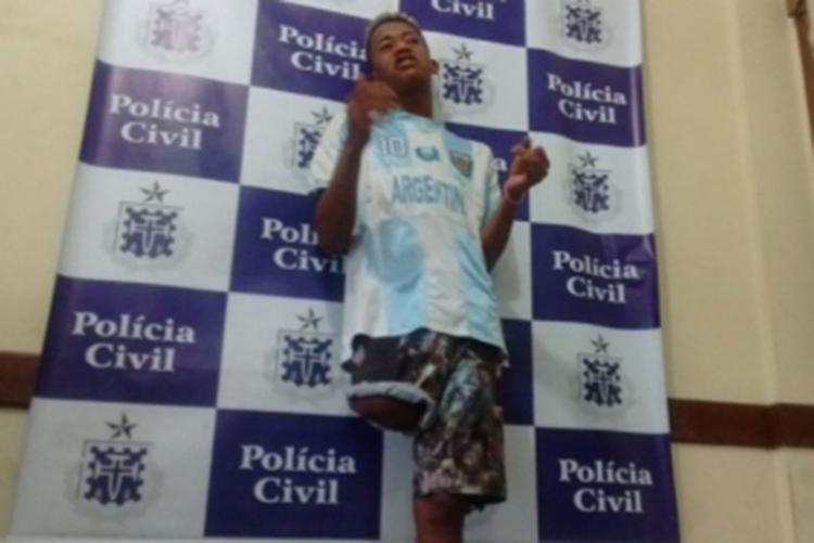 O deficiente físico viralizou nas redes após assaltar casal sob a trilha sonora do Sítio do Picapau Amarelo. - Foto: Divulgação | Bom Dia Feira