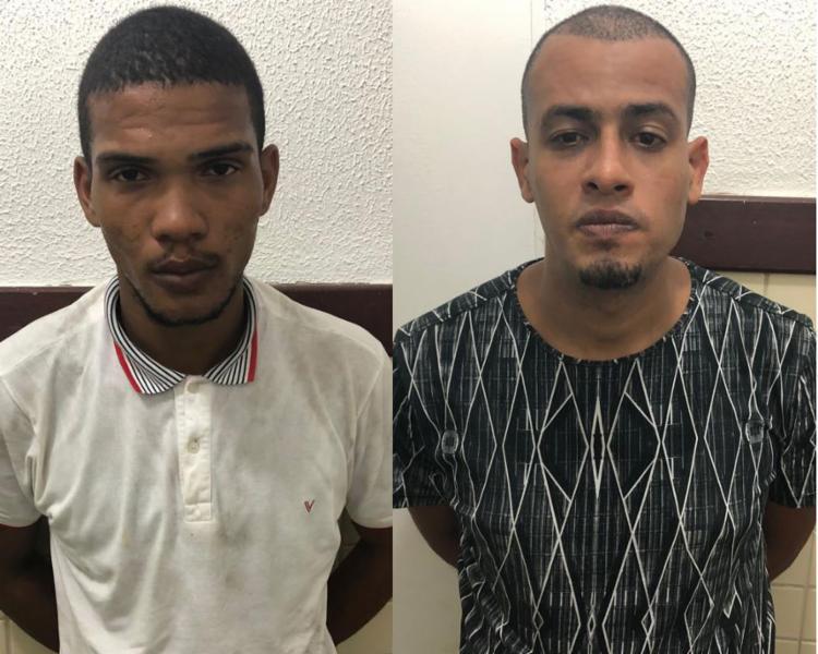 A dupla foi reconhecida por nove vítimas, além do motorista e cobrador - Foto: Divulgação   SSP-BA