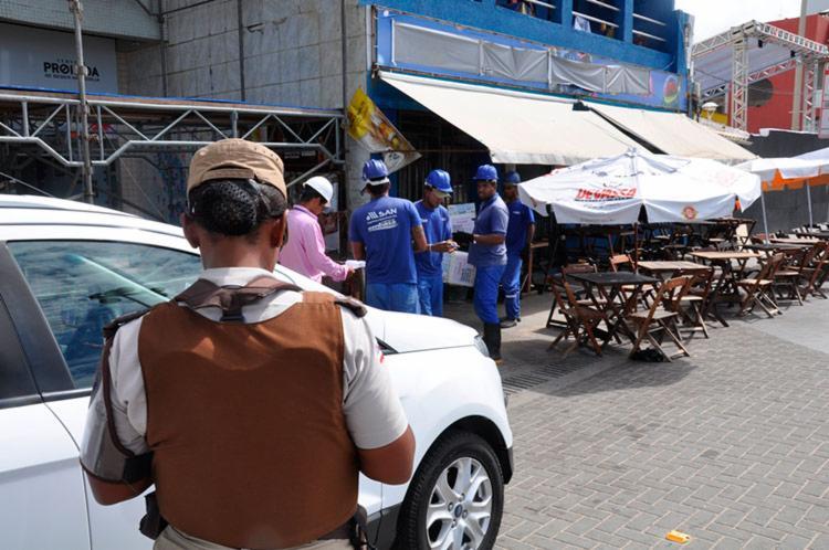 Fiscalização foi realizada pela Embasa e polícias Militar e Civil - Foto: Divulgação | Secom