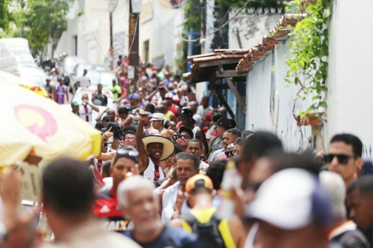Desconforto iniciou por volta das 5h desta segunda-feira - Foto: Raul Spinassé | Ag. A TARDE