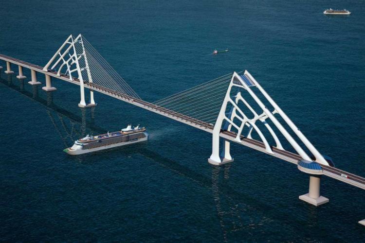 Ponte será um elo entre Salvador, a Ilha de Itaparica e as regiões do baixo sul - Foto: Divulgação