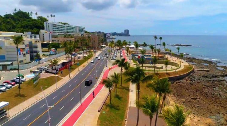 O projeto faz parte do programa Salvador 360 e conta com investimentos de R$ 27,5 milhões, para primeira e segunda etapas - Foto: Divulgação | Prefeitura de Salvador