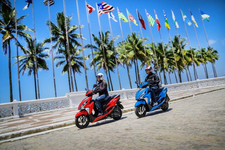 Scooters são ideais para centros urbanos - Foto: Divulgação