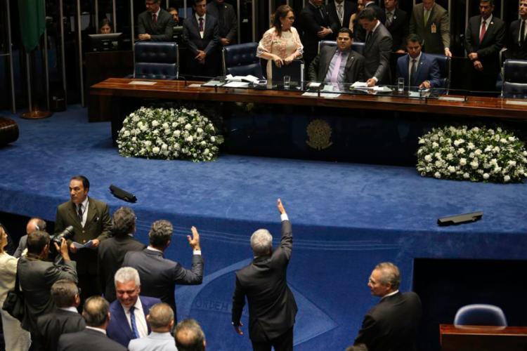 A expectativa é que, na retomada da sessão suspensa há pouco, os partidos confirmem primeiro as candidaturas a presidente - Foto: Fabio Rodrigues Pozzebom   Agência Brasil