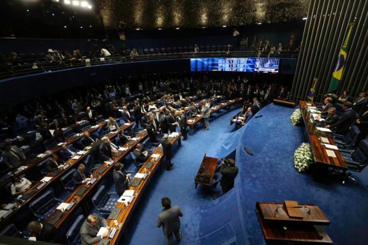 Antes da eleição, houve um embate sobre se a votação seria aberta ou secreta - Foto: Fabio Rodrigues Pozzebom | Agência Brasil
