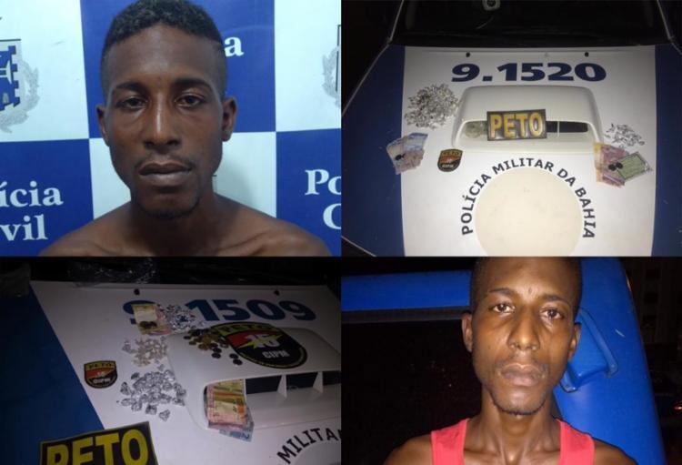 suspeito foi localizado, nas duas vezes, no bairro de Nova Brasília - Foto: Divulgação | SSP-BA