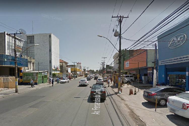 Não há informações sobre feridos - Foto: Reprodução   Google Street View