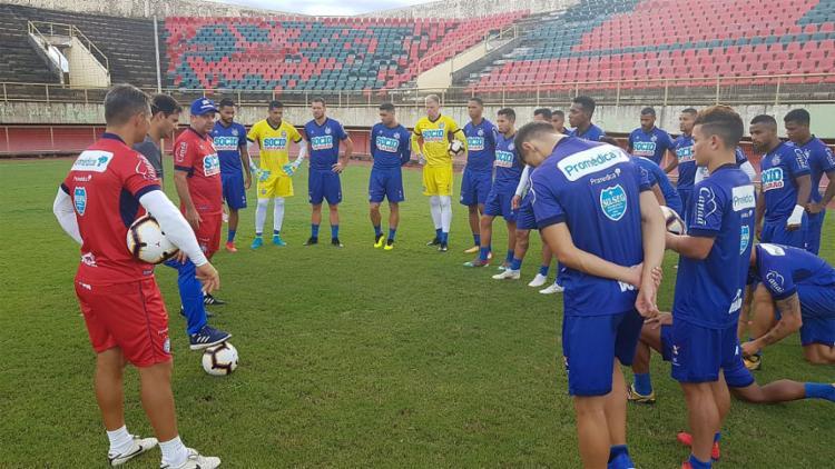 O técnico Enderson Moreira vai utilizar força máxima em confronto que vale classificação - Foto: Reprodução l Twitter l @ecbahia