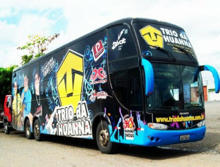 Banda seguia para Pernambuco quando ônibus foi abordado por grupo - Foto: Reprodução | Blog do Anderson