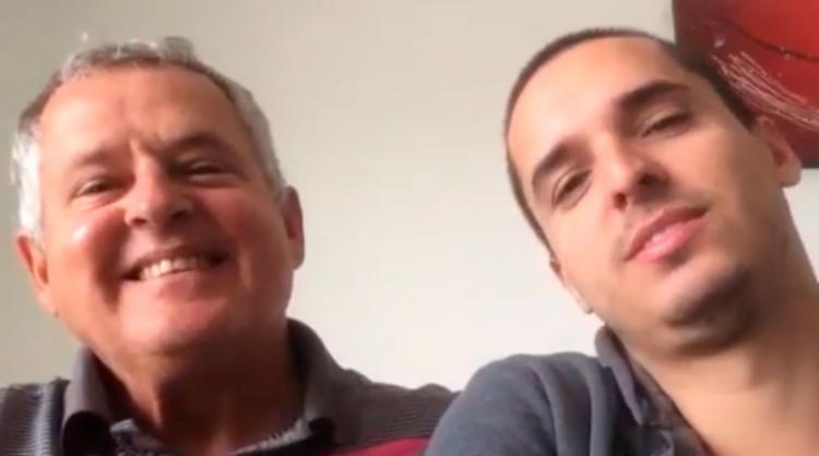 Rodrigo Dantas agradeceu o apoio que recebeu e disse que poderá voltar ao País em breve - Foto: Reprodução | YouTube