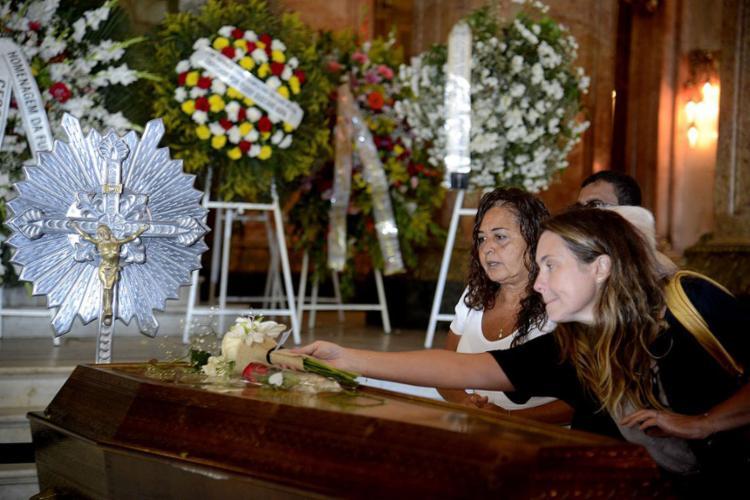 O local do velório fez parte da trajetória profissional de Bibi Ferreira - Foto: Tânia Rêgo l Agência Brasil