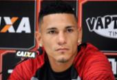 Léo Gomes pede apoio da torcida em jogo contra o Náutico | Foto: Maurícia da Matta | EC Vitória
