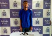 Homem é preso em flagrante suspeito de homicídio em Teixeira de Freitas | Foto: Divulgação | Polícia Civil