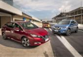 Nissan apresenta hatch elétrico Leaf, que em breve chegará à Bahia | Foto: Divulgação