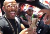Nego do Borel é criticado por vídeo em que distribui dinheiro a jovens na rua | Foto: Reprodução | Instagram | @negodoborel