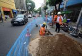 Ossada humana é encontrada durante requalificação do Centro Histórico de Salvador | Foto: