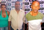 Três pessoas são presas com armas e drogas em Nova Soure | Foto: Divulgação | SSP-BA