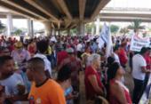Trabalhadores protestam contra reforma da Previdência | Foto: