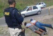 PRF frusta roubo de carro na BR-324 e liberta vítima | Foto: Divulgação | PRF