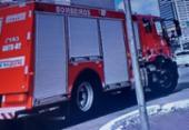 Incêndio atinge posto de saúde em Pernambués | Foto: Reprodução | TV Record