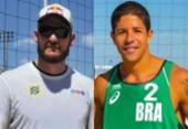 No vôlei de praia, campeão olímpico Alison tem novo parceiro para Tóquio-2020 | Foto: Divulgação | Marcella Scaramello e FIVB