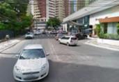 Uma pessoa fica ferida após ser atropelada na Pituba   Reprodução   Google Street View