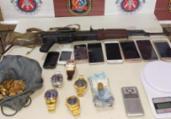 Trio é preso com fuzil russo no Jardim das Margaridas   Divulgação   SSP-BA