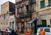 Telhado de casarão desaba no Centro Histórico | Divulgação | CBMBA