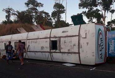 Colisão de ônibus com cavalo deixa seis feridos na BR-330 | Reprodução | Ilhéus 24h