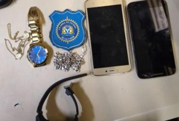 Pertences de vítimas são recuperados após assalto na Ribeira | Divulgação | Guarda Civil Municipal