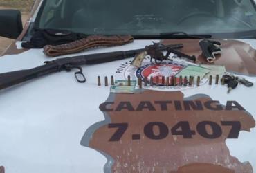 Idoso é preso com armas em Barra do Tarrachil |