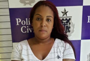 Suspeita de liderar tráfico em Feira é presa em Lauro de Freitas | Divulgação | SSP-BA