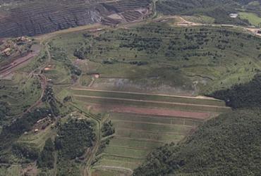 Barragem de Barão de Cocais pode atingir outras duas cidades | Reprodução | TV Globo