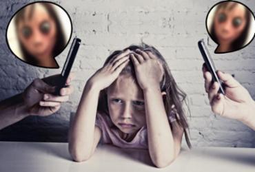 Boneca Momo volta a reacender a preocupação dos pais