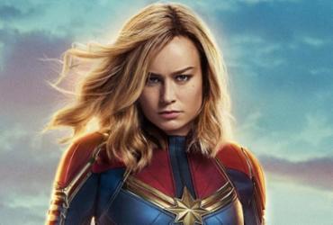 'Capitã Marvel' estreia nesta 5ª e traz Brie Larson em sua primeira aventura solo | Divulgação