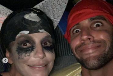 Ivete Sangalo e marido usam fantasia para curtir carnaval de Salvador | Reprodução | Instagram