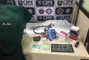 Falso médico é preso atuando em hospital de Nova Soure | Divulgação | SSP