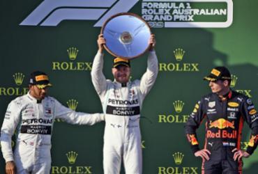 Bottas desbanca Hamilton e vence GP da Austrália na abertura da F-1 em 2019   William West l AFP