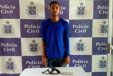 Homem é preso em flagrante suspeito de homicídio em Teixeira de Freitas | Divulgação | Polícia Civil