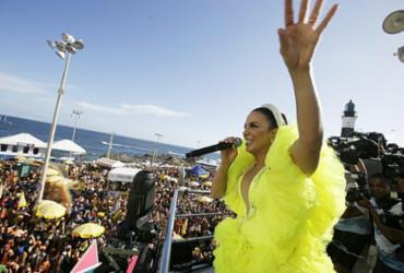 """Ivete Sangalo retorna ao Carnaval em clima apoteótico: """"Tô feliz da vida""""   Raul Spinassé   Ag. Tarde"""