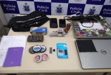 Jovem é encontrado com arma após ameaçar estudante no sul da Bahia | Divulgação | SSP-BA