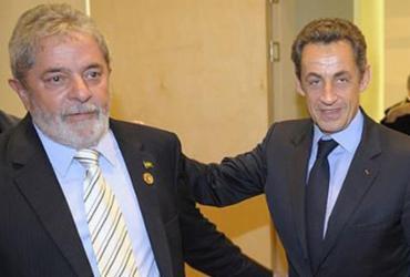 Palocci: Lula e Sarkozy acertaram propina em compra de submarinos e helicópteros | Philippe Wojazer l AFP
