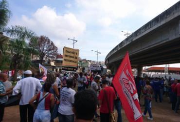Trabalhadores protestam contra Reforma da Previdência em Salvador | Raul Aguilar | Ag. A TARDE