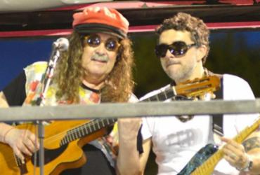 Veja como foi o show de Moraes Moreira na Praça Castro Alves |